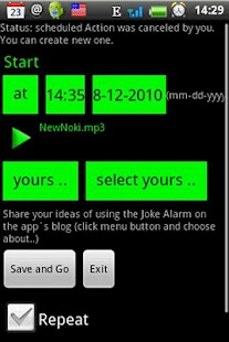 Joke Alarm  lite - screenshot thumbnail