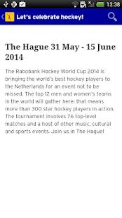 Rabobank Hockey World Cup 2014 - screenshot thumbnail