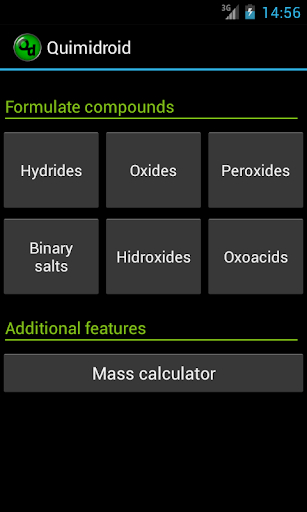 Quimidroid chemistry PRO