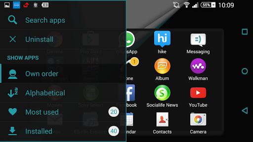 玩免費個人化APP|下載Theme - Material Blue app不用錢|硬是要APP
