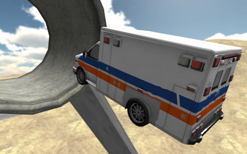 Extreme Ambulance Driving 3D- screenshot thumbnail