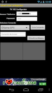 GPS Tracker Configurator Free screenshot 3
