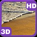 Tropical Sandy Beach Waves HD icon