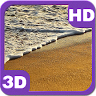 Tropical Sandy Beach Waves icon