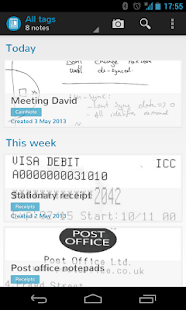 CamNote - scannable notes - screenshot thumbnail