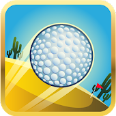 Cartoon desert mini golf 3D