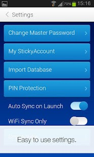 Sticky Password Manager & Safe - screenshot thumbnail