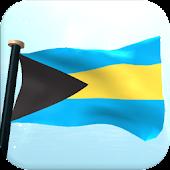 Bahamas Flag 3D Free Wallpaper