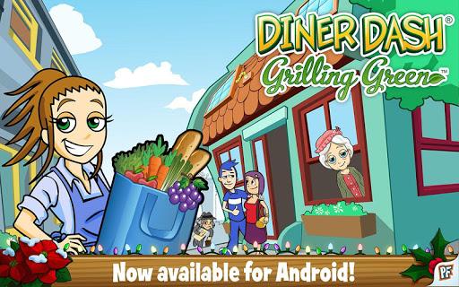 【免費休閒App】Diner Dash Grilling Green-APP點子