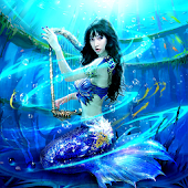 Mermaid Girl Live Wallpaper