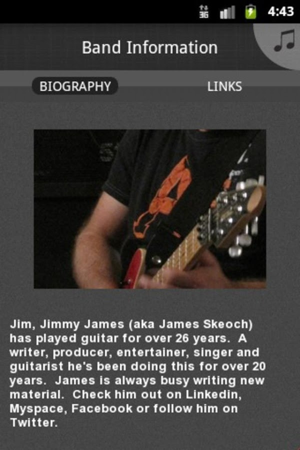 James Skeoch and Preachers - screenshot