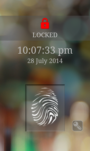 Screen Lock Fake Scanner