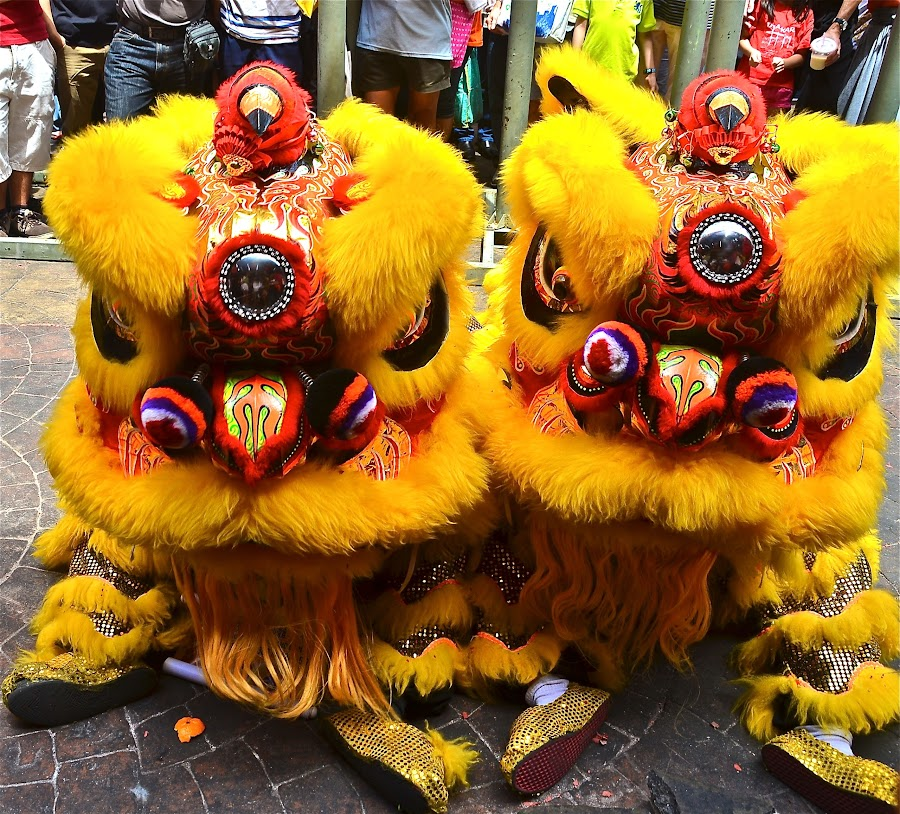 Double Lions by John Wong - News & Events World Events