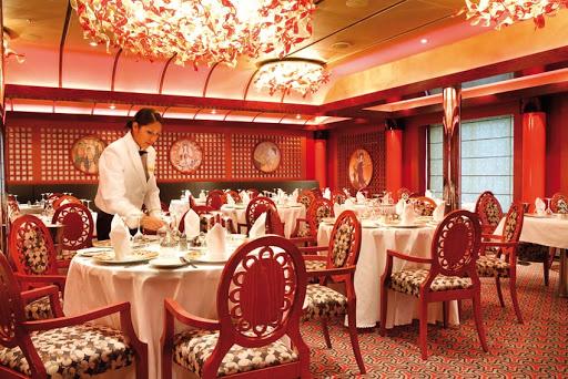 Costa-Luminosa-Samsara-restaurant - Reservations are recommended for Costa Luminosa's Samsara restaurant.