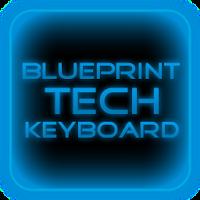 Blue Tech Keyboard Skin 1.0