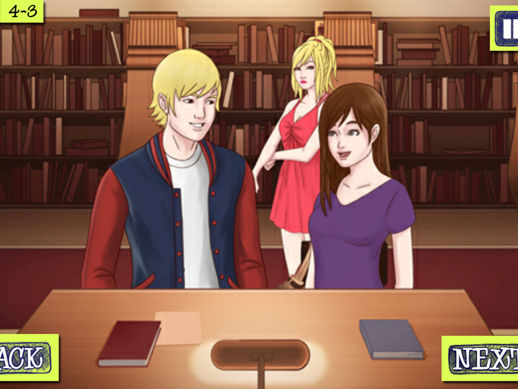 Moxy High - New Girl- screenshot