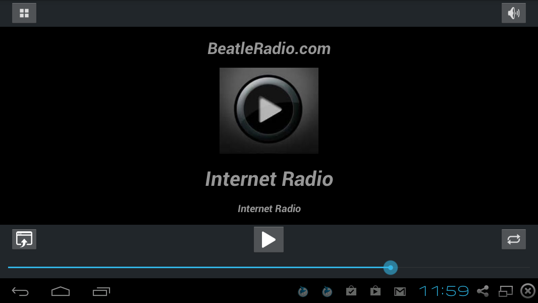 Beatle Radio- screenshot
