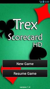 Trex Scorecard HD - screenshot thumbnail