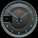 Sport Tachometer Analog Clock logo