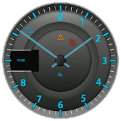 Sport Tachometer Analog Clock