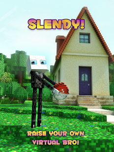 Slendy - slender-man style pet