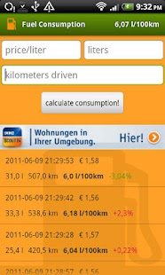 fuel economy (mileage)- screenshot thumbnail
