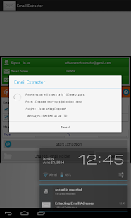 Email Extractor- screenshot thumbnail