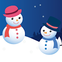 Snowman Couple icon