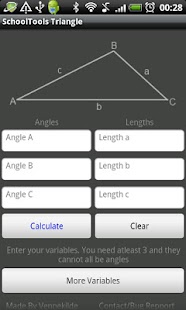 Triangle Solver Tool - screenshot thumbnail