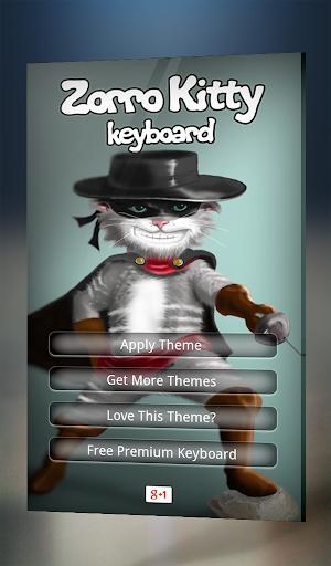 Zorro Kitty Keyboard