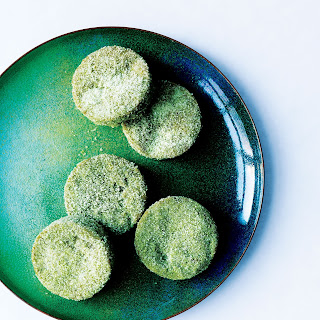 Matcha–White Chocolate Sugar Cookies