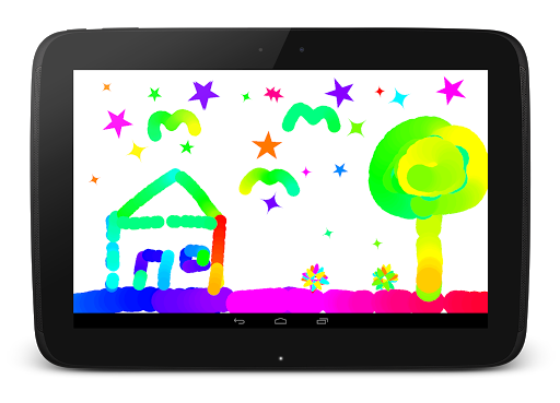 Baby Distractor: Finger Paint (trial) screenshot