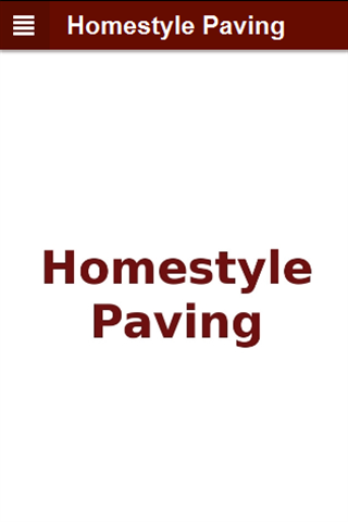 Homestyle Paving