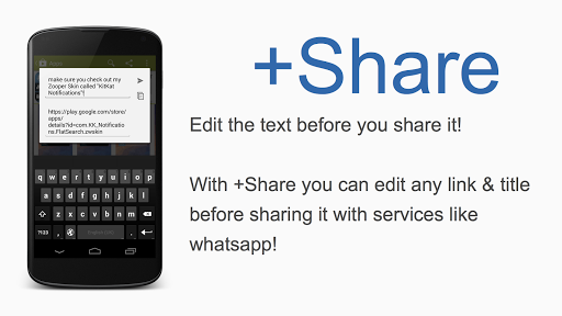 +Share - Sharing done right.