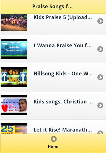 Praise Songs for Kids