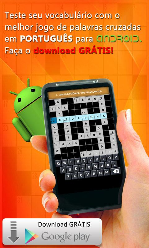 Crosswords - Portuguese - screenshot