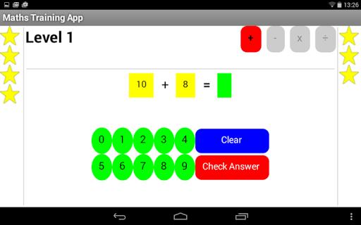 Mental Maths Training App