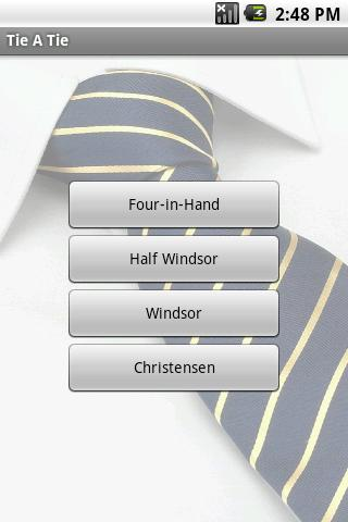 Tie A Tie - screenshot