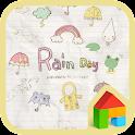 Rain day 여름감성 도돌런처 테마 icon