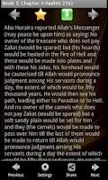 Screenshot of Sahih Muslim Free