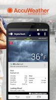 Screenshot of AccuWeather Platinum