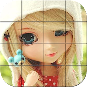 Tile Puzzle - Cute Dolls