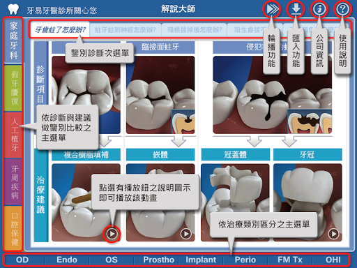 易牙醫「解說大師」 繁體中文語音版