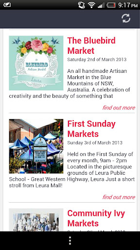 Blue Mountains Markets