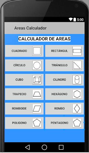 Areas Calculador