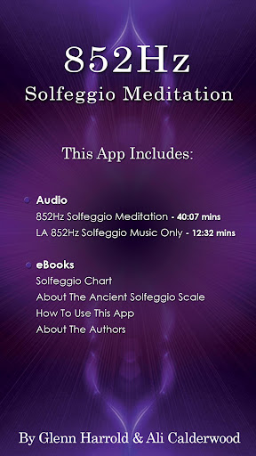 852 Solfeggio by Glenn Harrold