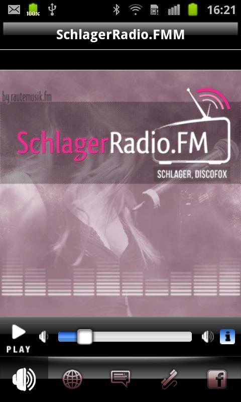SchlagerRadio.FM - screenshot