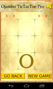 Ojambo TicTacToe Pro- screenshot thumbnail