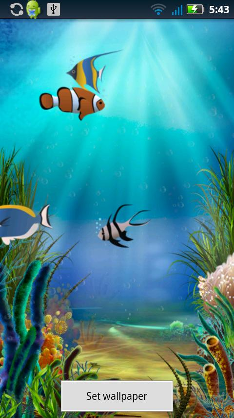 Fish Pond Live Wallpaper - screenshot