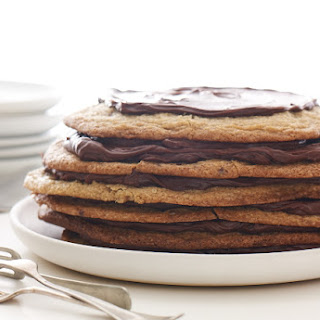 Giant Chocolate Chip Cookie Torte